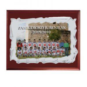 bandeja conmemorativa personalizada con foto