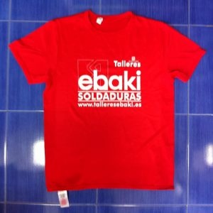 camiseta serigrafia personalizada