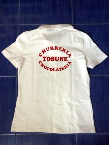 camiseta personalizada serigrafia