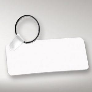 Llavero rectangular personalizado